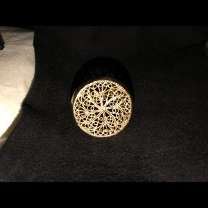 Jewelry - 14K Gold & 925 Sterling Silver Ring